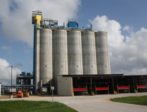 EOG Resources Sand Storage Silos