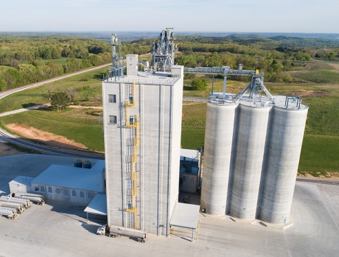 Mar-Jac Poultry Feed Mill and Grain Storage Facility