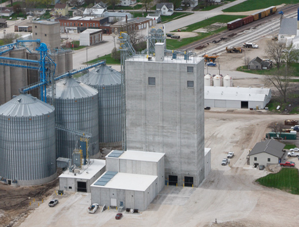 new cooperative feed mill