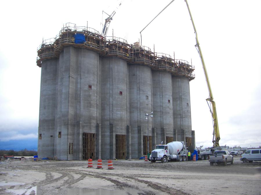 Eog Resources Sand Storage Silos Younglove Construction